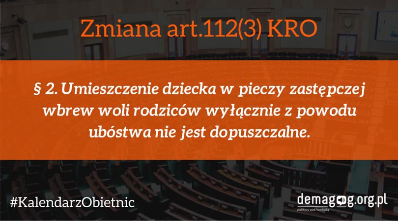 zmiana art.112