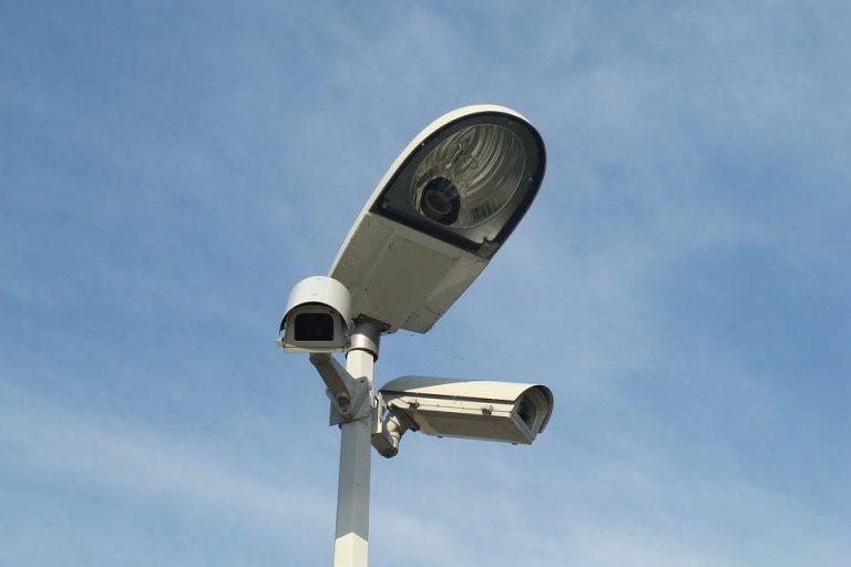 City Replacement Lamp Monitoring Camera Lighting