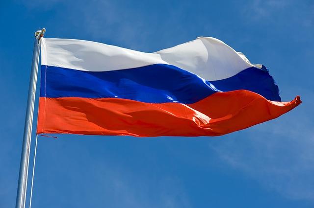 flaga rosja rosji