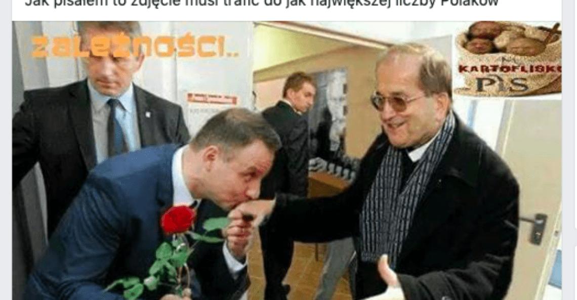 Fake news - Duda i Rydzyk
