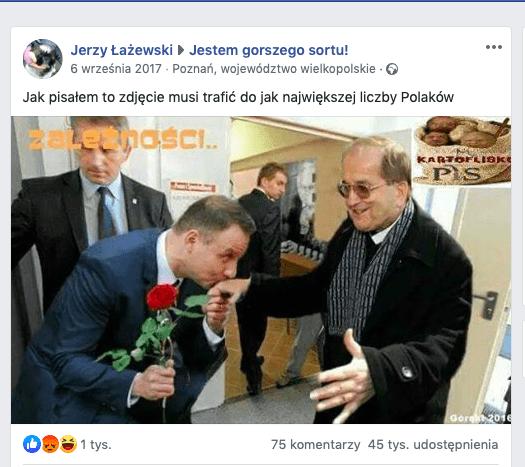 Fake news - Duda iRydzyk