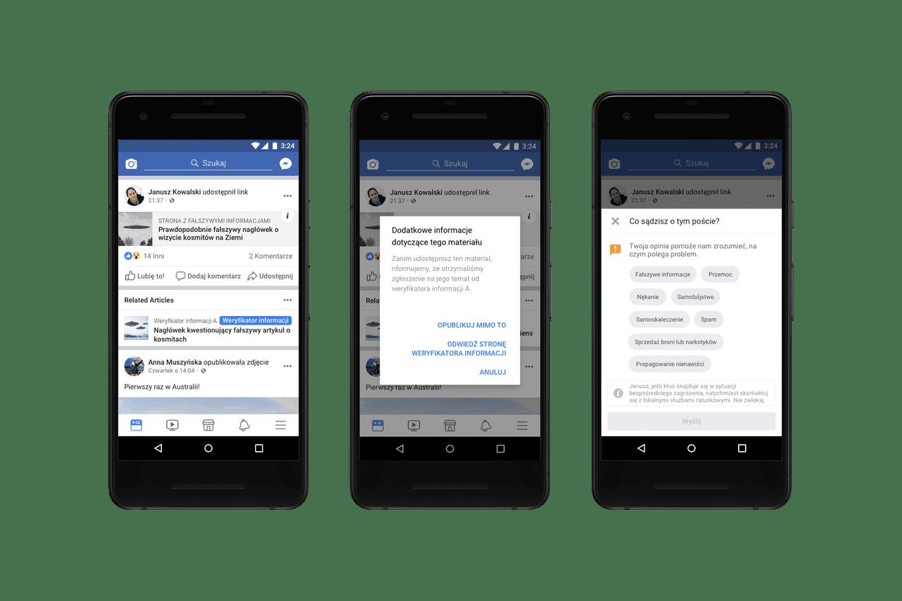 Demagog dołącza doprogramu weryfikacji informacji Facebooka