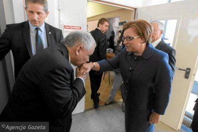 Prawdziwe zdjęcie Kaczyńskiego zKempą