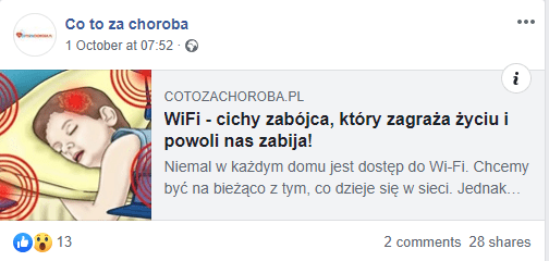 Nie. Wi-Fi nie jest niebezpieczne dladzieci iTwojego zdrowia