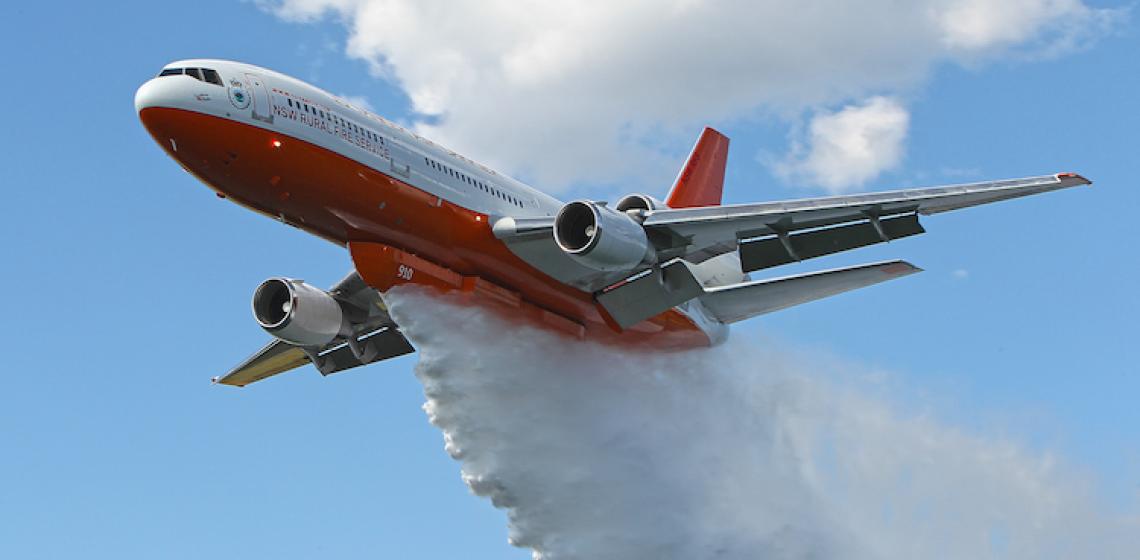 Air tanker - zdjęcie do artykułu o fake news
