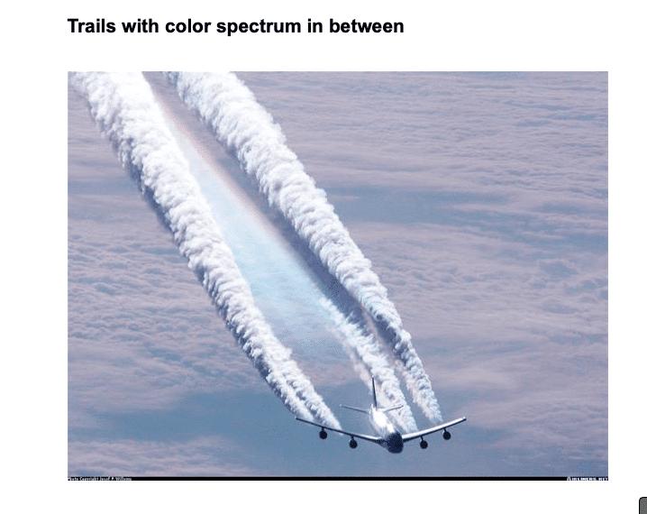 Nie, samoloty nie spryskują nas chemią