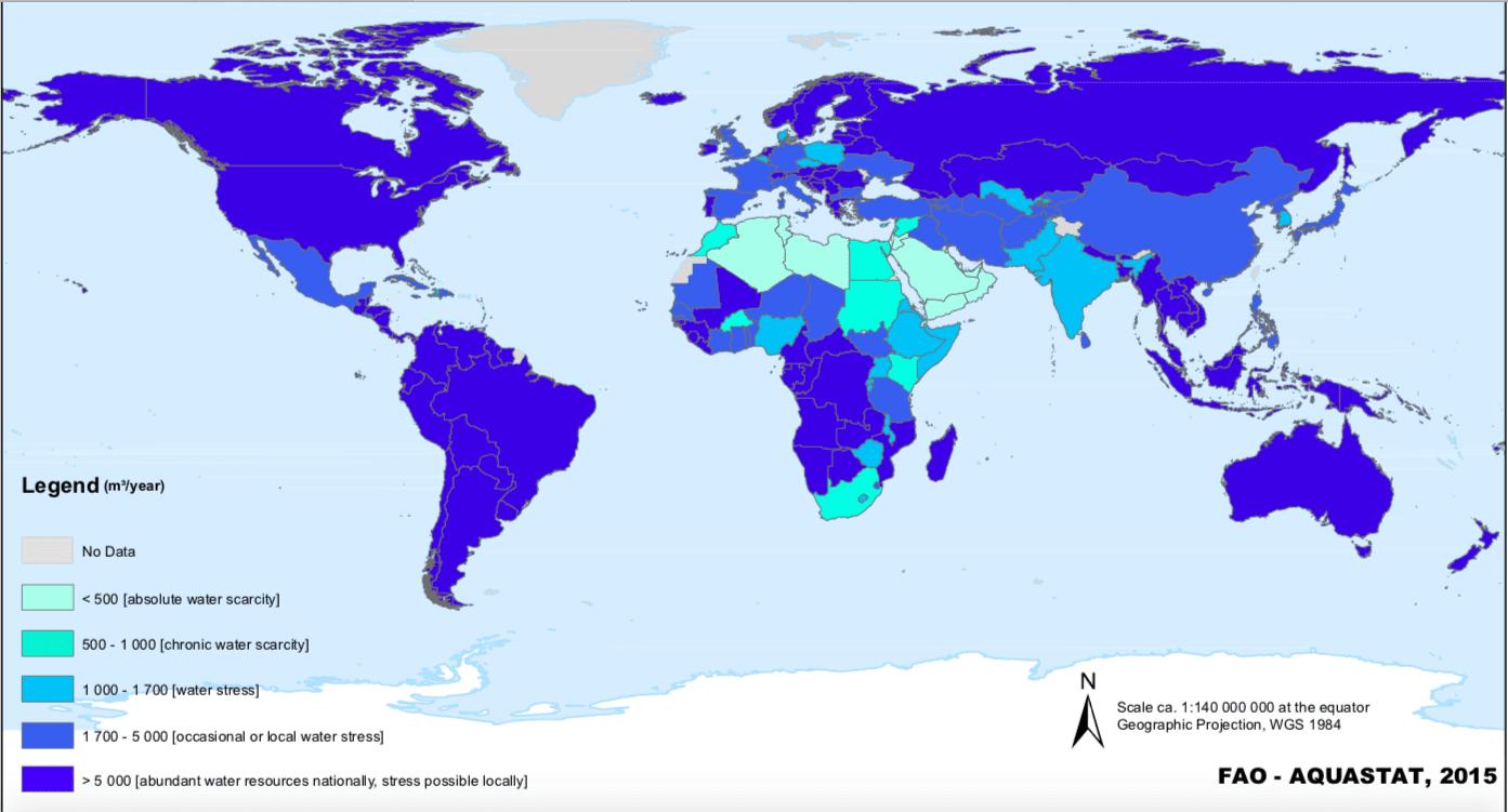 Jakie państwa mają największe zasoby wody?