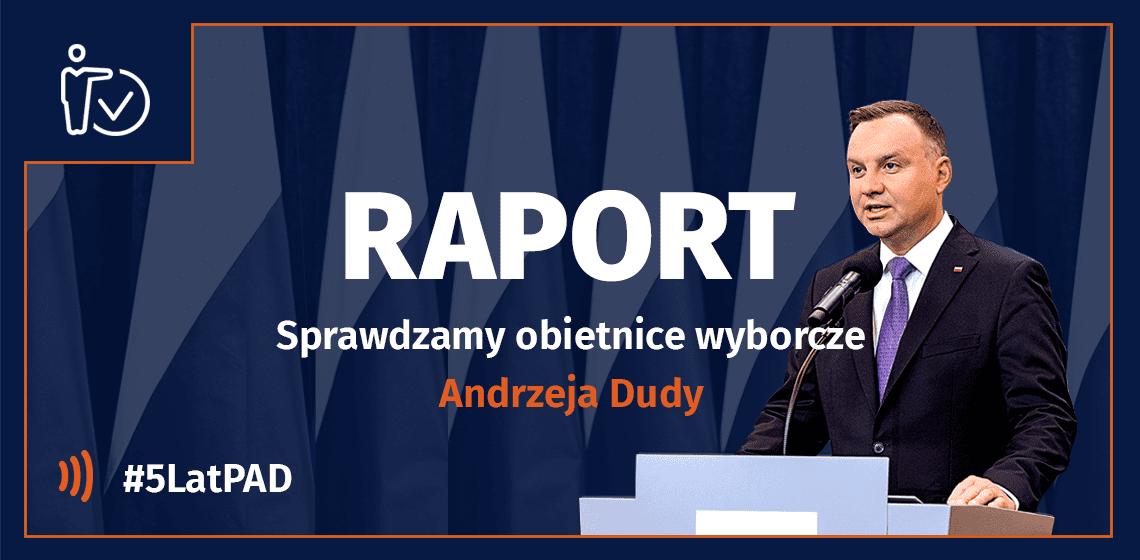 5 lat prezydentury Andrzeja Dudy