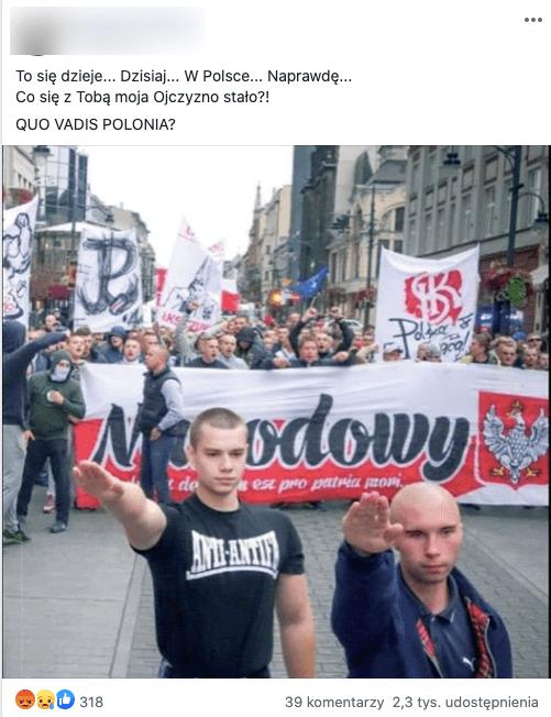 To nie są tegoroczne obchody Powstania Warszawskiego