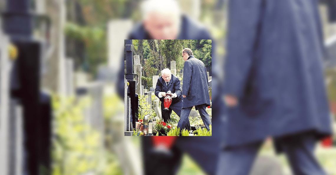 Nie, Jarosław Kaczyński nie pojawił się na cmentarzu dzień przed Dniem Wszystkich Świętych