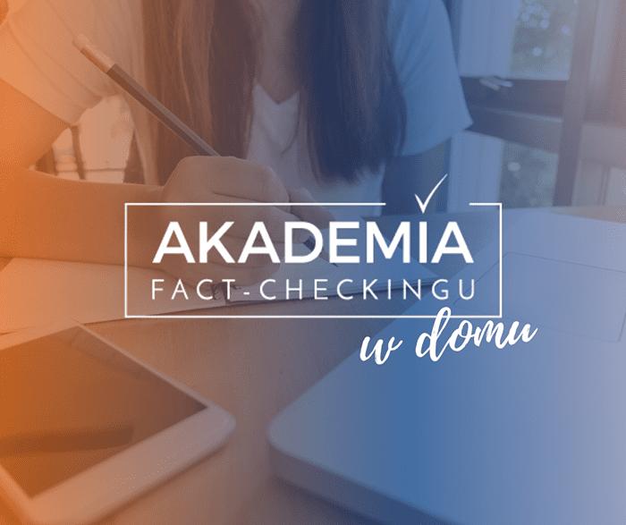 Akademia Fact-Checking wdomu