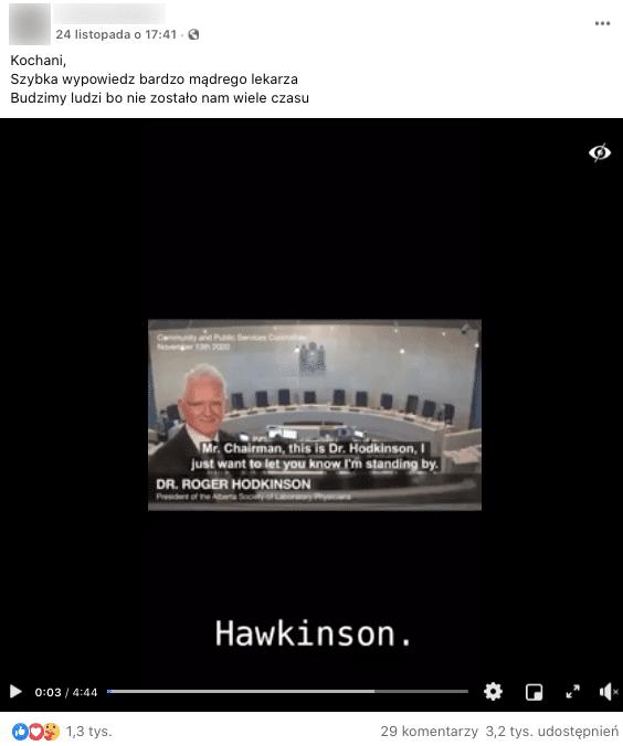 Post wideo naFacebooku