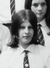 Młoda Teresa May