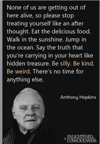 Analizowany cytat przypisany Anthonemu Hopkinsowi